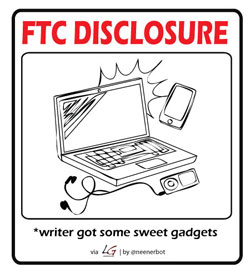 FTC Disclosure cartoon