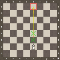 Pawn chess moves